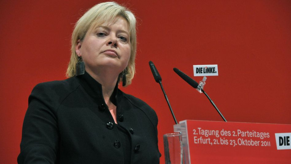 Parteivorsitz: Linke-Chefin Lötzsch tritt zurück