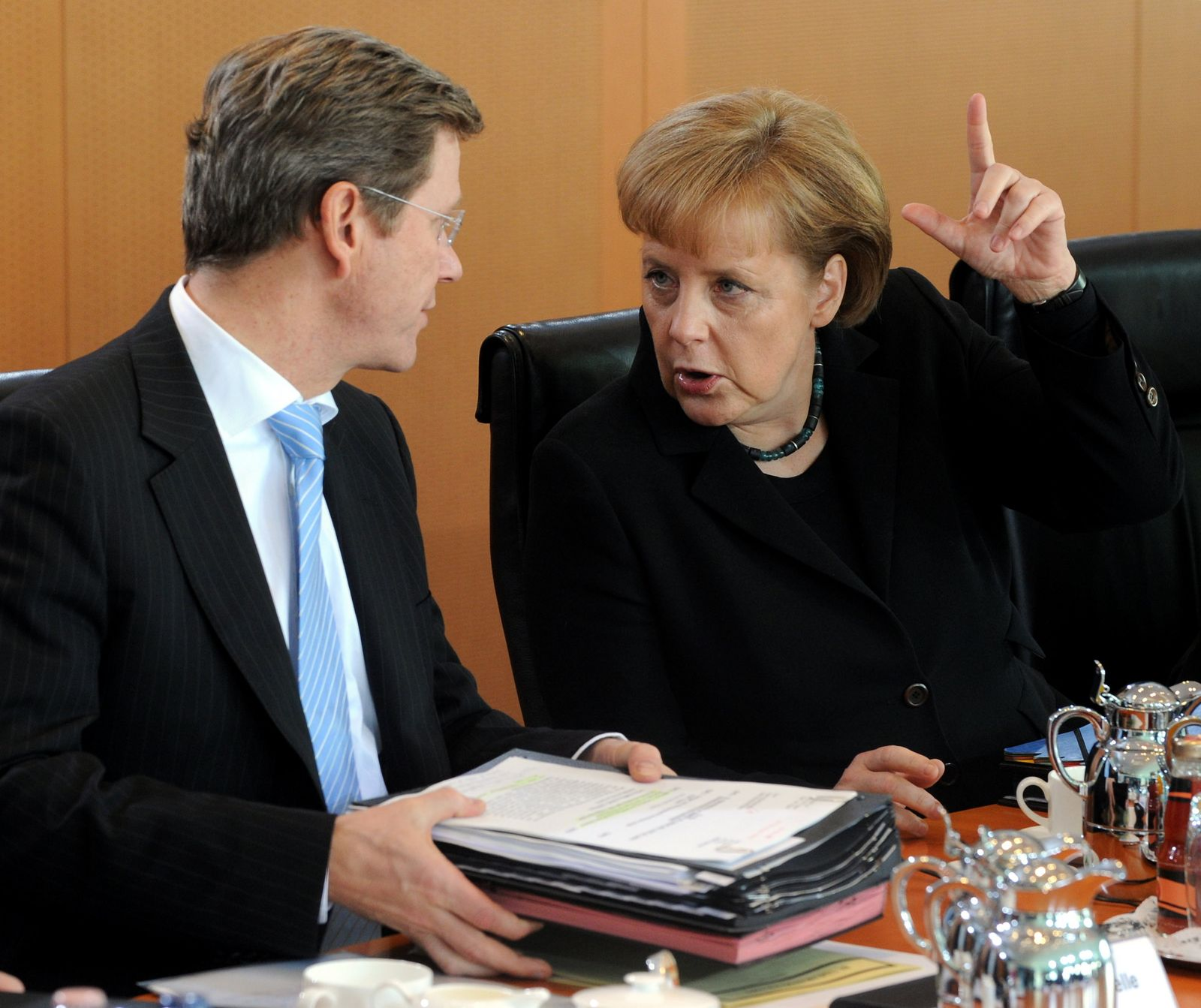 Merkel/Westerwelle
