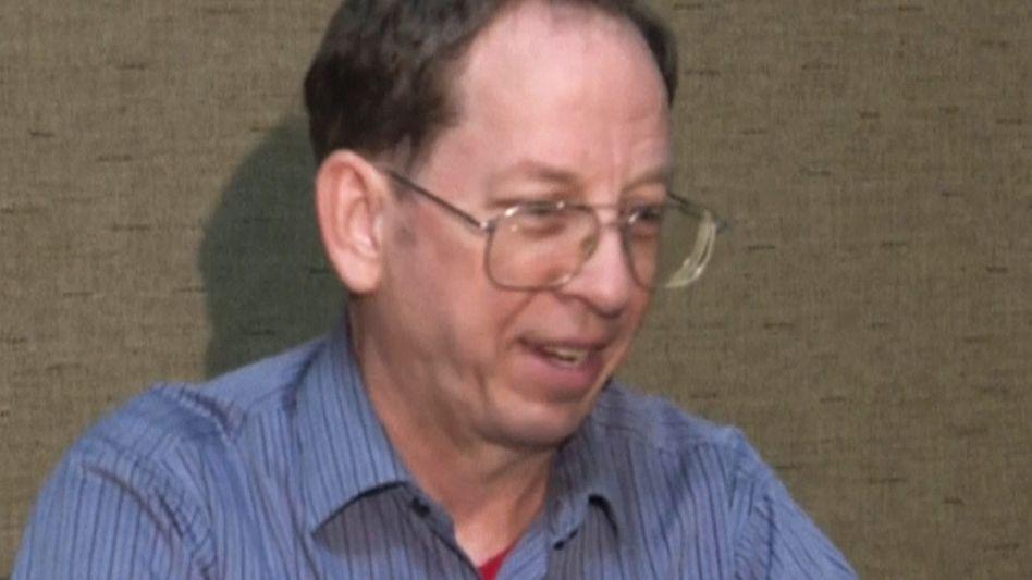 Jeffrey Fowle (Bild aus Video): Auf dem Weg zu seiner Familie