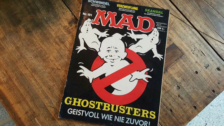 "Kultmagazin ""Mad"": Lechz! Würg! Stöhn!"