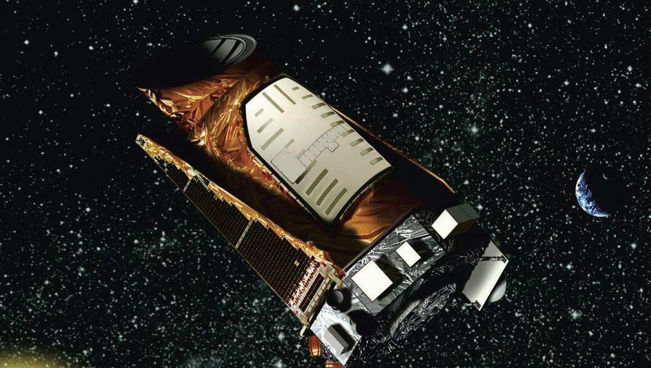 """Nasa-Teleskop """"Kepler"""" (künstlerische Darstellung): Schluss mir der Planetensuche"""