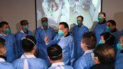 China schickt Tausende Mediziner nach Wuhan