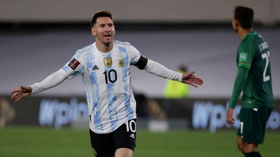 Kein Südamerikaner schoss je mehr Länderspieltore als Lionel Messi
