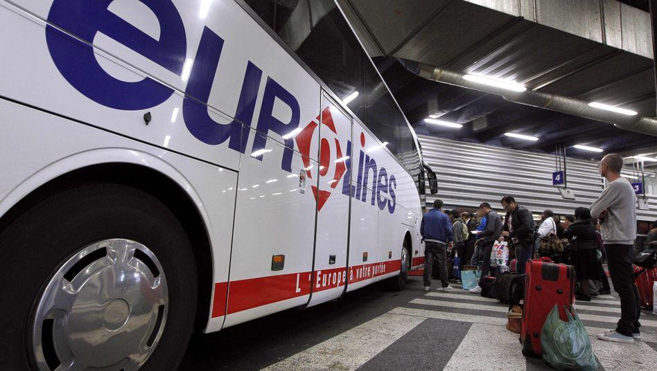 Eurolines-Bus (Archivbild)