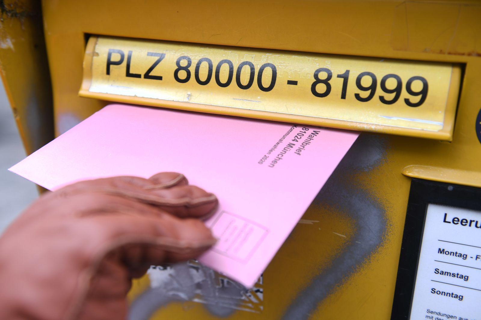 Briefwahl zur Kommunalwahl