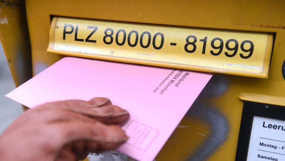 Das Bundesinnenministerium rechnet mit einem erhöhten Anteil an Briefwählern