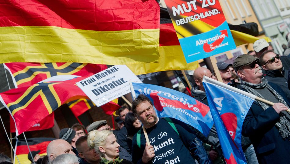 AfD-Demonstration in Stralsund, April 2016