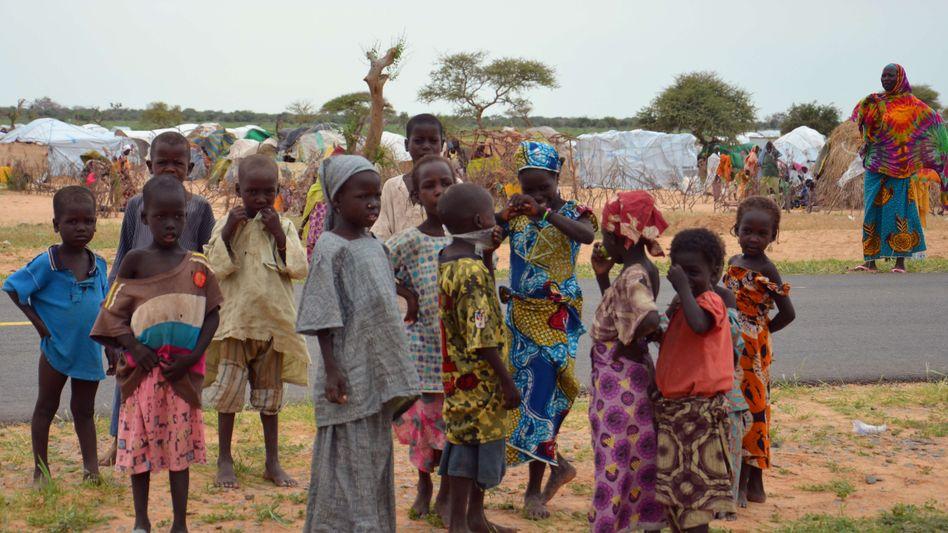 """Flüchtlingskinder im Niger: """"Mehr als die Hälfte von ihnen ist unter fünf Jahre alt"""""""