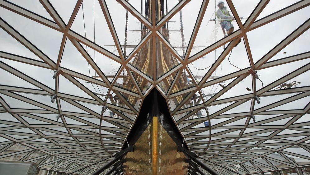 """Cutty Sark"": Legendärer Museums-Klipper wird wiedereröffnet"