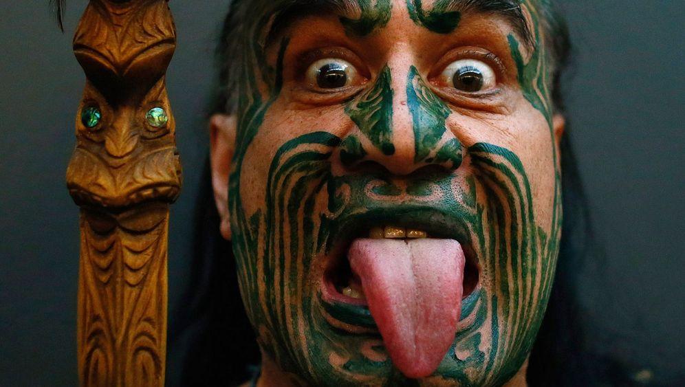 Tattoo-Künstler in Neuseeland: Ein Muster für jeden Kunden
