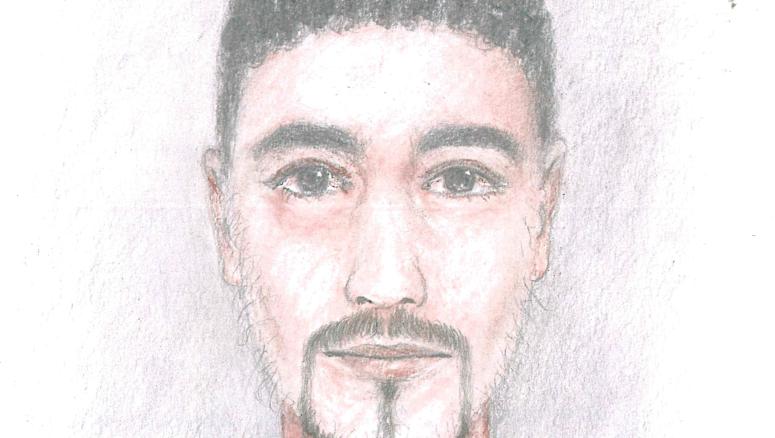 Dieses Phantombild eines Verdächtigen gab die Polizei Dresden am Donnerstag heraus