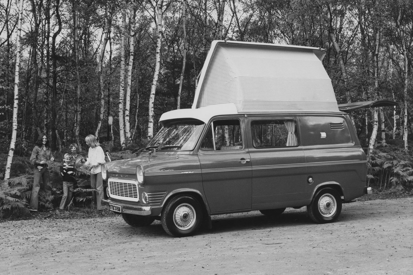 Ford Dormobile Freeway Transit Van