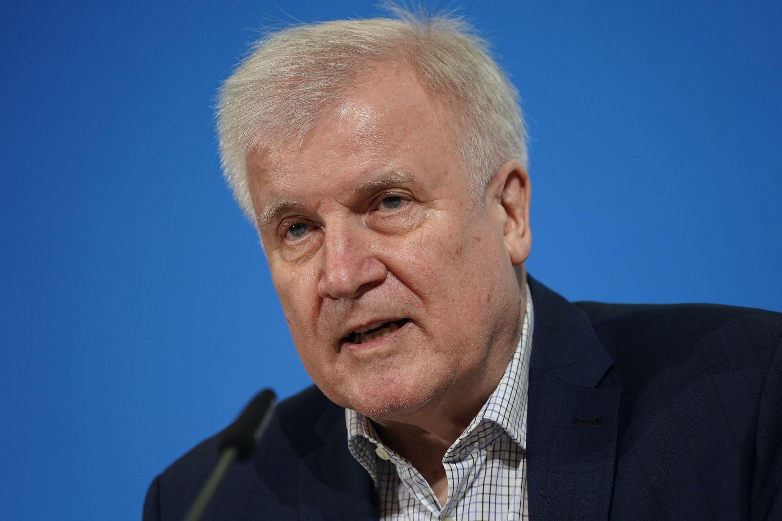 Interior Minister Seehofer Announces New Measures To Counter Coronavirus Spread