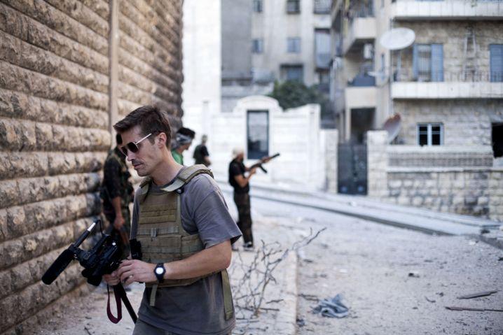 Jim Foley 2012 in Syrien: Berufung statt Beruf