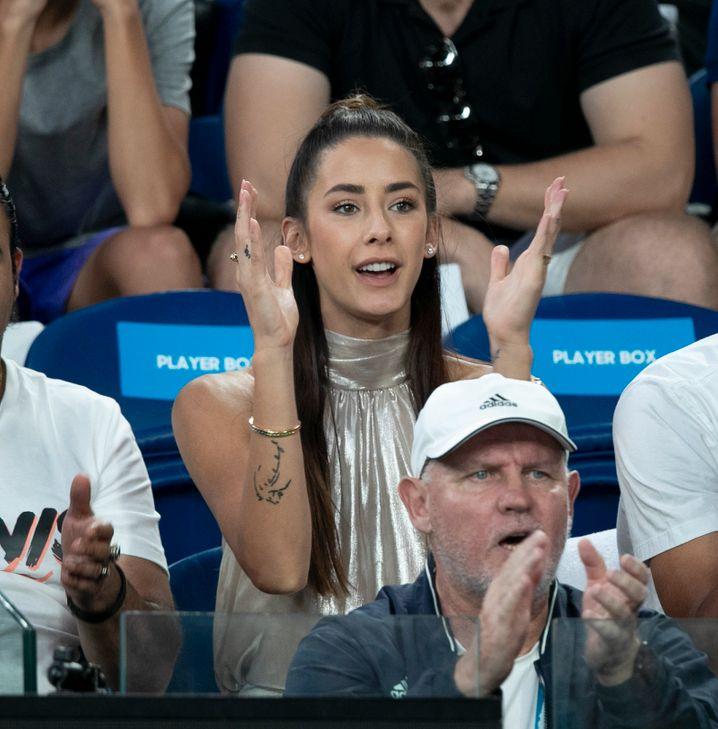 Brenda Patea bei den Australian Open Ende Januar 2020: Ende Februar haben sie und Alexander Zverev sich zuletzt gesehen