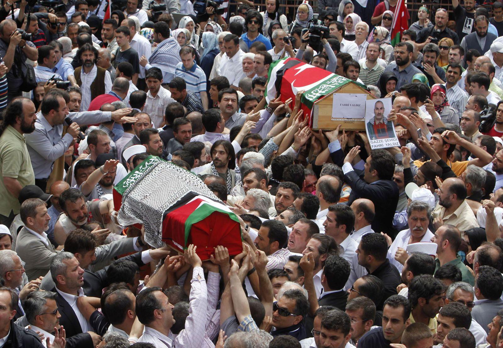 Trauerfeier Istanbul Gaza