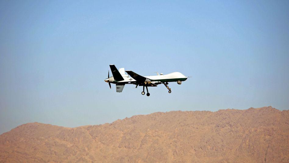 US-Drohne beim Start in Afghanistan: Sechster Angriff innerhalb von zwei Wochen