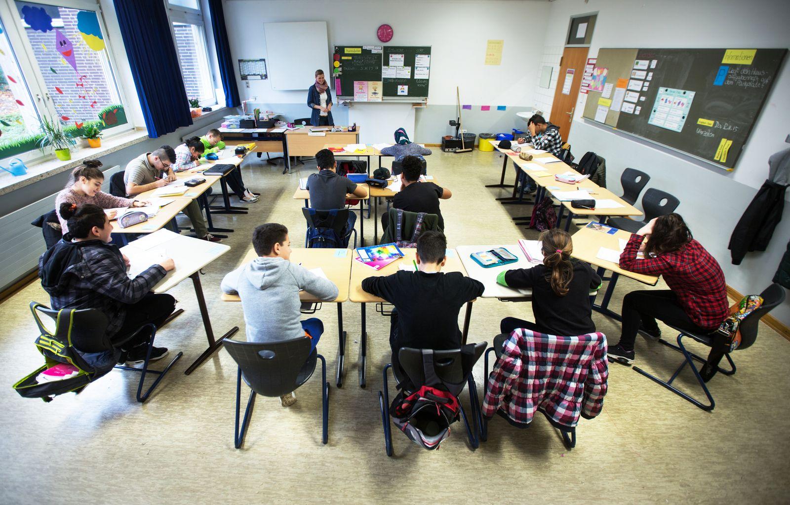Hauptschule / Flüchtlingskinder