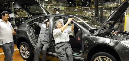 Insignia-Fertigung bei Opel in Rüsselsheim: 3,3 Milliarden Euro nötig