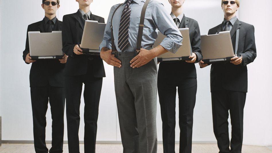 Ist der Ruf erst ruiniert... Manager gelten als eitle Businesskasper