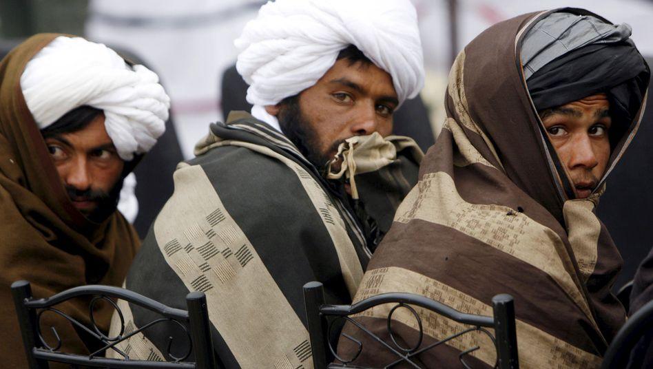 Talibankämpfer in Afghanistan: Sie mussten einfach nur abwarten