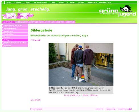 Umstrittenes Pinkelfoto: Dem Webmaster durchgerutscht
