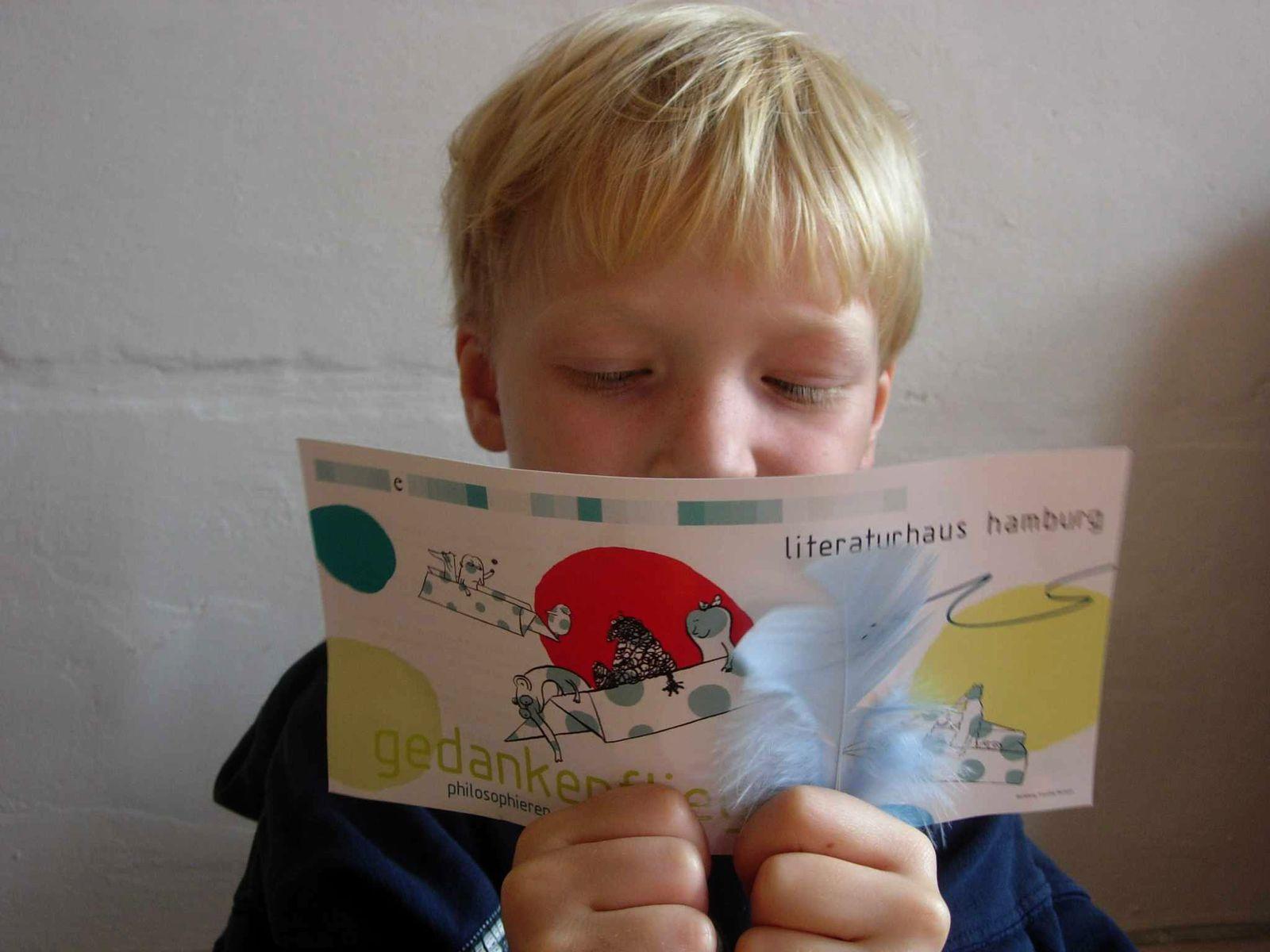 EINMALIGE VERWENDUNG Tageskarte 5.10.2009 / Buch / Gedankenflieger 1