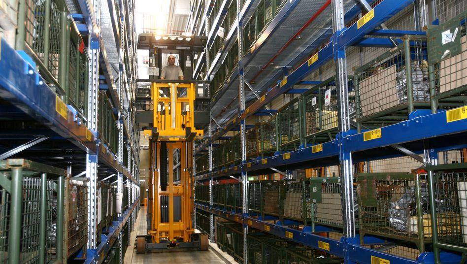 VW-Logistikzentrum für Ersatzteile in Ludwigsfelde