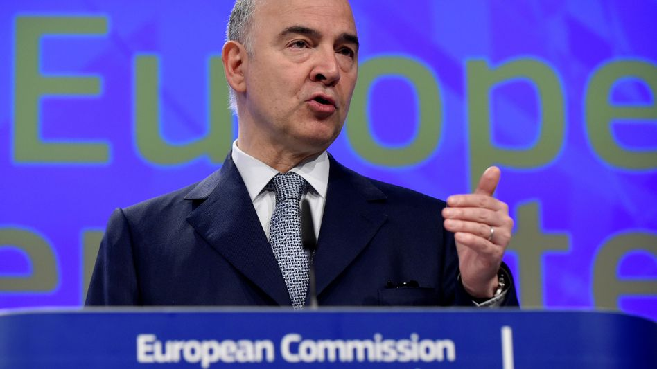 EU-Finanzkommissar Pierre Moscovici