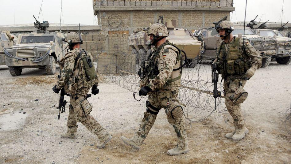 Bundeswehrsoldaten nahe Kundus: Teurer Einsatz