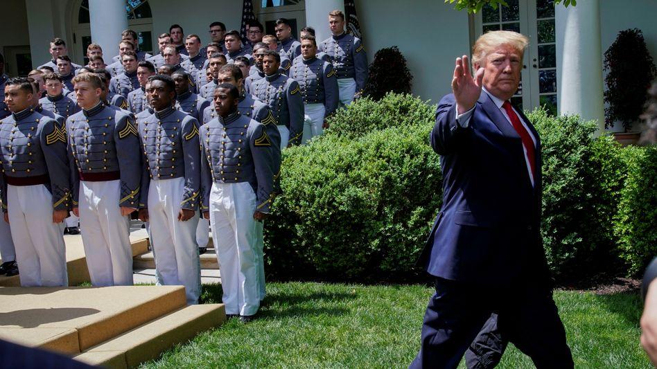 Hätte ohne sein Präsidentenamt offenbar die ein oder andere Klage am Hals: Donald Trump.