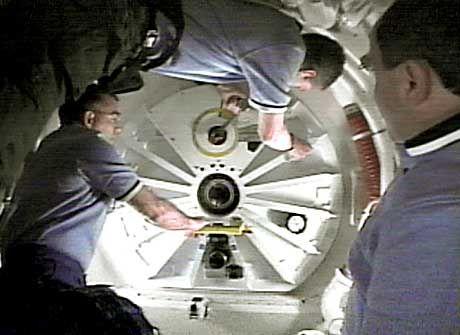 """ISS: """"Ein tolles Raumschiff"""""""