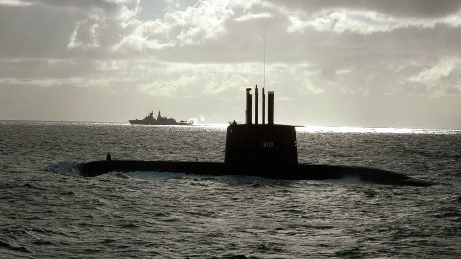 U-Boot der Klasse 209 (hier ein südafrikanisches Schiff): Ernsthafte politische Probleme