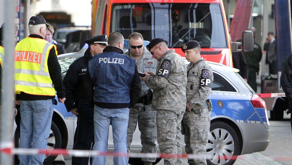 Schüsse am Frankfurter Flughafen: Bundesanwälte vermuten Terrormotiv