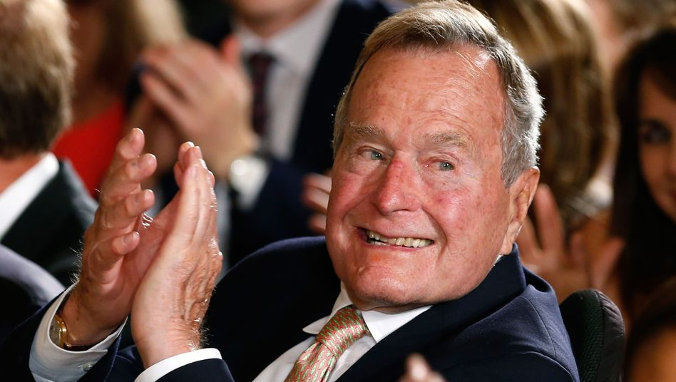 George H. W. Bush (Archivbild 2013)