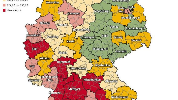 Riester-Zulagen: Wo die Deutschen am häufigsten Geld verschenken