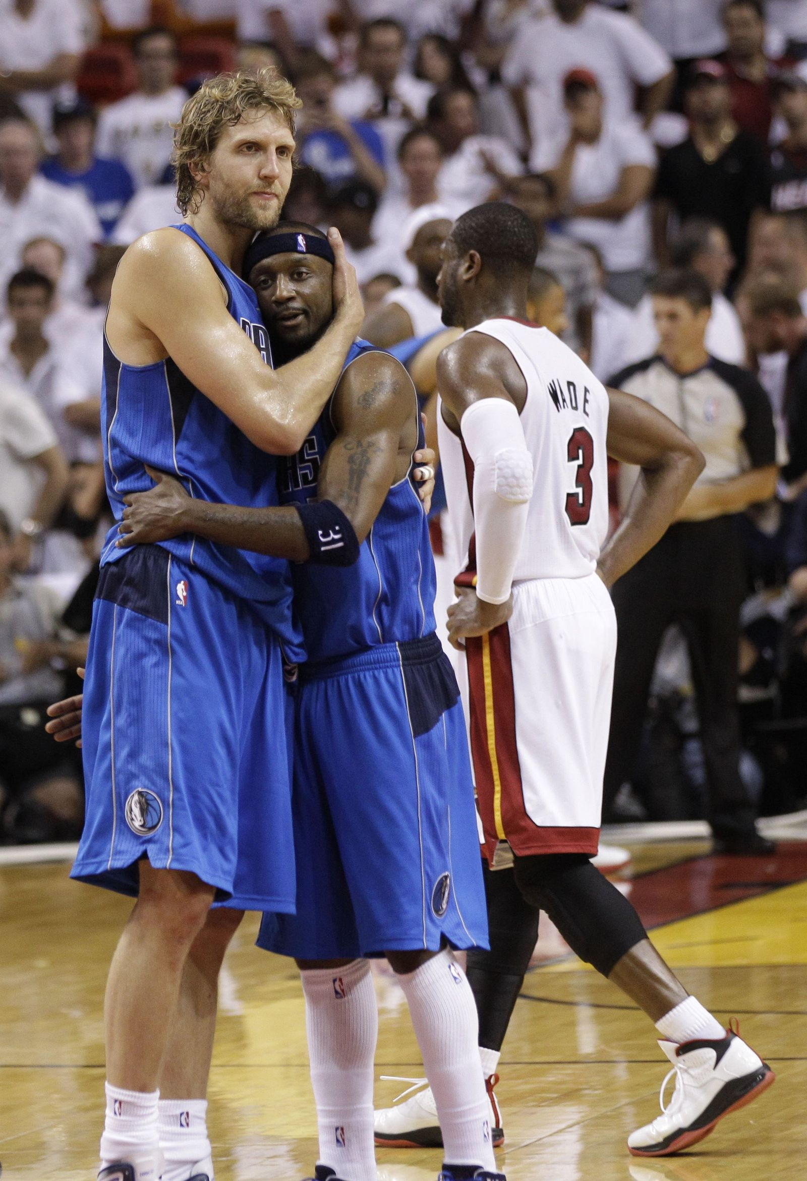 NBA Finals Mavericks Heat Basketball/Dirk Nowitzki