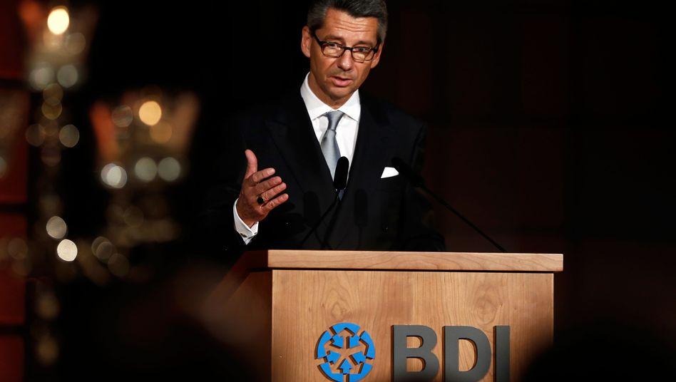 """BDI-Chef Grillo: """"Europa braucht Reformen - jetzt!"""""""