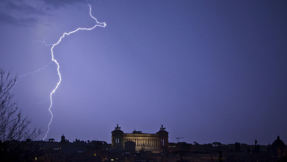 Roms Skyline mit dem Vittoriano-Monument
