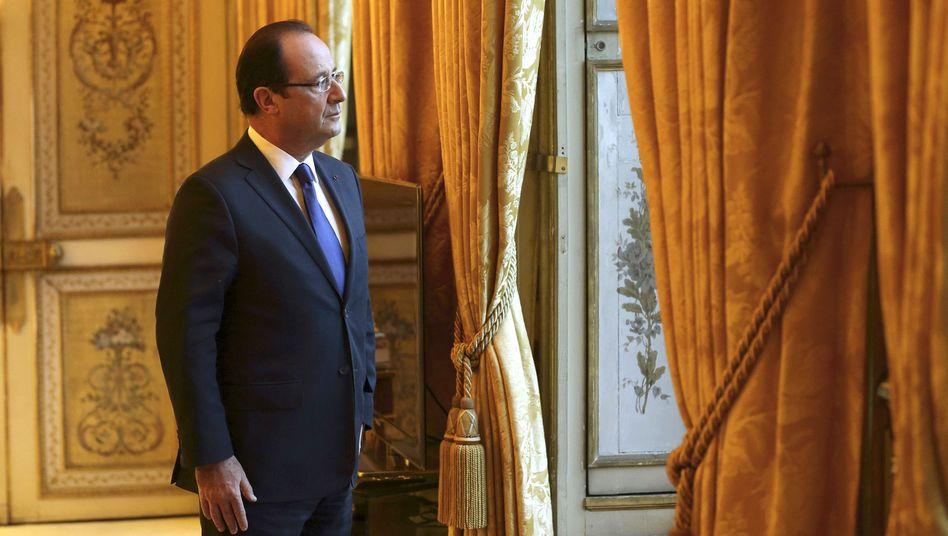 Präsident François Hollande: Reiche zur Sanierung der Staatsfinanzen in die Pflicht nehmen