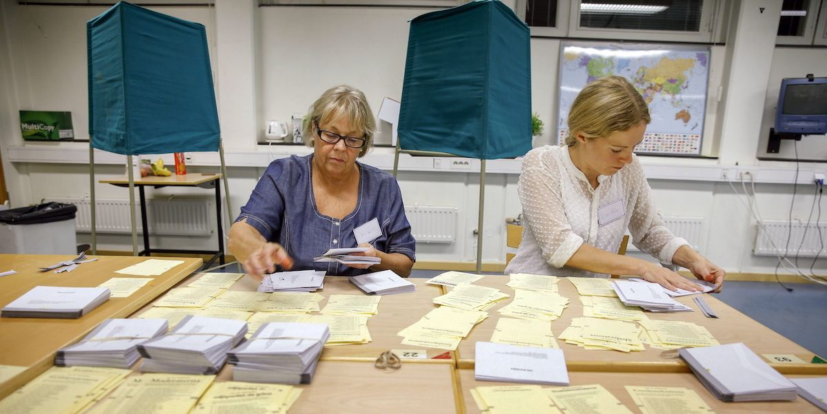Elections in Sweden