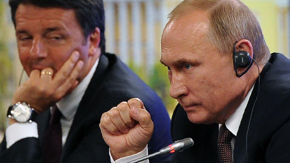 Politiker Putin, Renzi