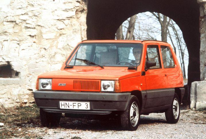 Überführungsfahrzeug Fiat Panda