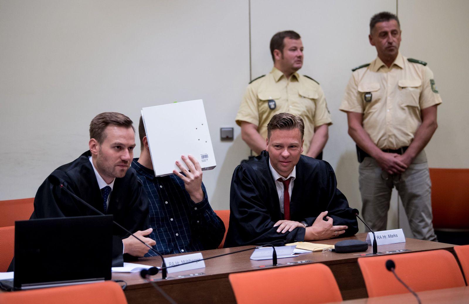 München Prozess Waffenhändler Philipp K.