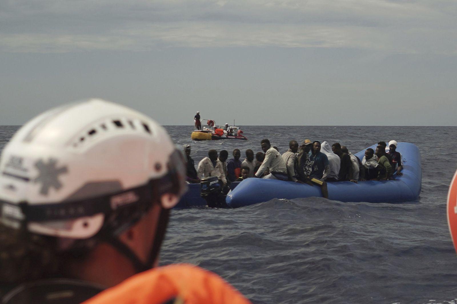 Rettungsschiff «Ocean Viking» in Einsatz