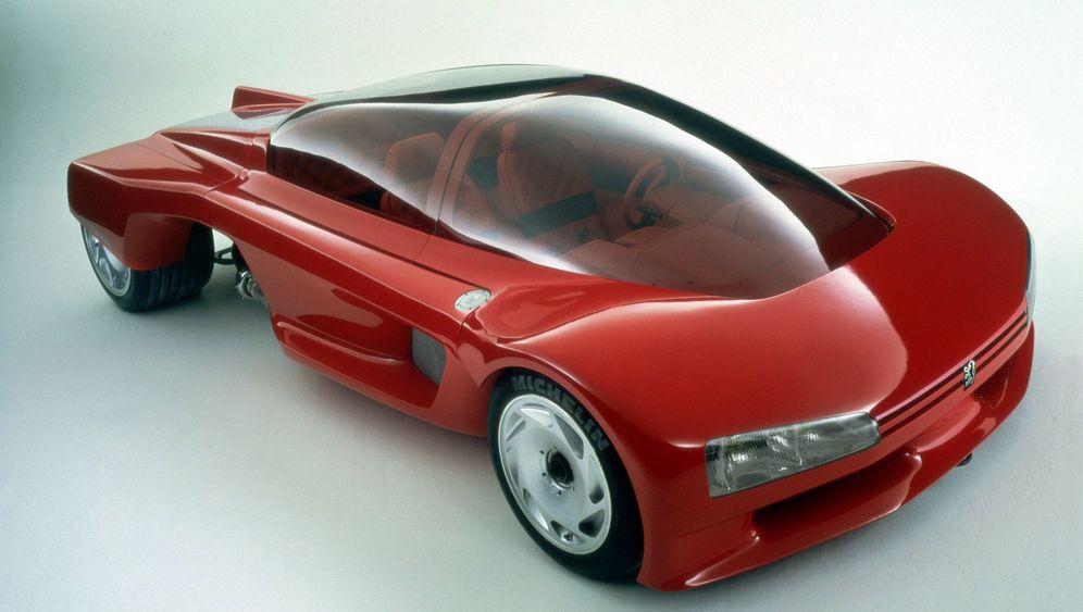 Konzeptauto Peugeot Proxima: Kolossale Kuppel