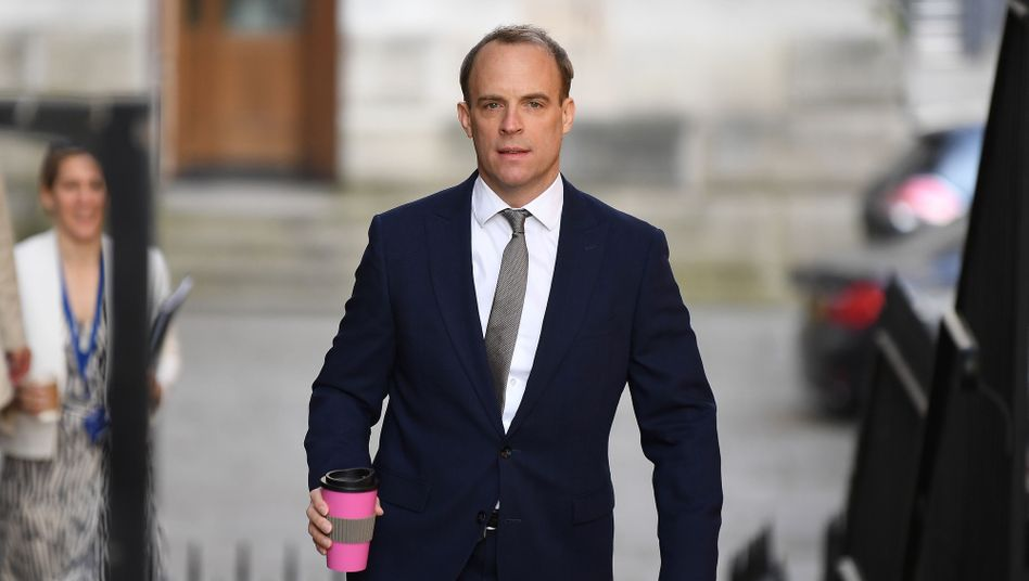 Dominic Raab: Der Außenminister führt derzeit die Regierungsgeschäfte in Großbritannien