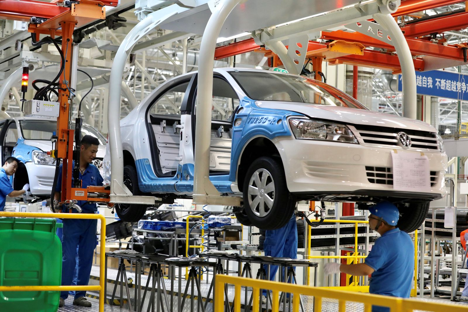 EINMALIGE VERWENDUNG Xinjiang Volkswagen