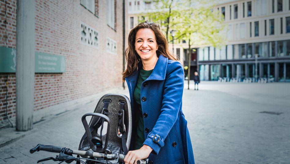 Kristina Frank (CSU), kandidiert für das Amt der Oberbürgermeisterin in München