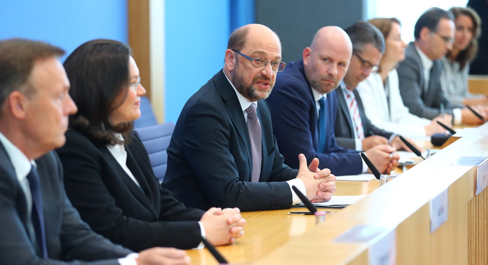 SPD Schulz/ Nahles/ Oppermann